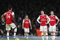 Zklamaní fotbalisté Arsenalu