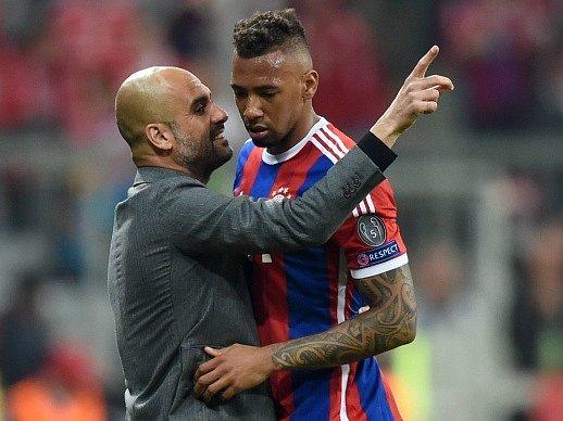 Bayern Mnichov - Porto: Pep Guardiola a Jerome Boateng