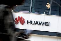 Logo čínského výrobce telekomunikačních zařízení Huawei