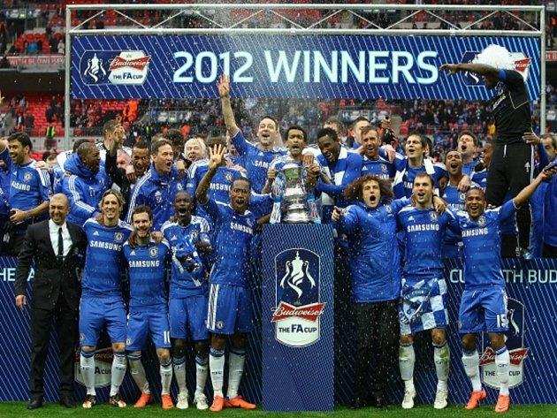 Fotbalisté Chelsea vyhráli Anglický pohár.