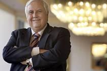 Australský důlní miliardář Clive Palmer