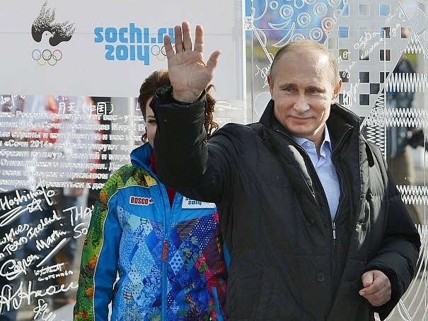 Prezident Vladimír Putin v Soči.