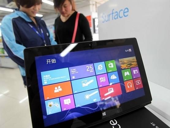 Tablet Surface od Microsoftu