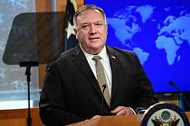 Americký ministr zahraničí Mike Pompeo