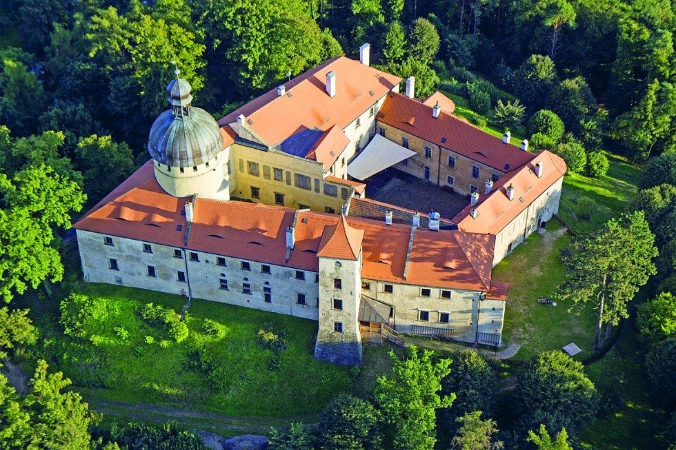 Jizerské hory, hrad Grabštejn