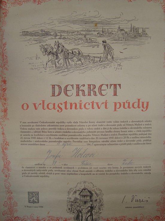 Dekret o vlastnictví půdy