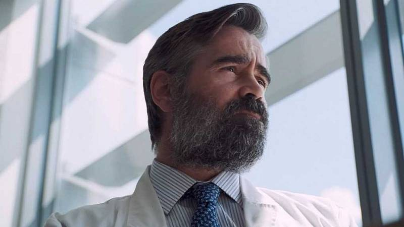 Colin Farrell ve filmu Zabití posvátného jelena