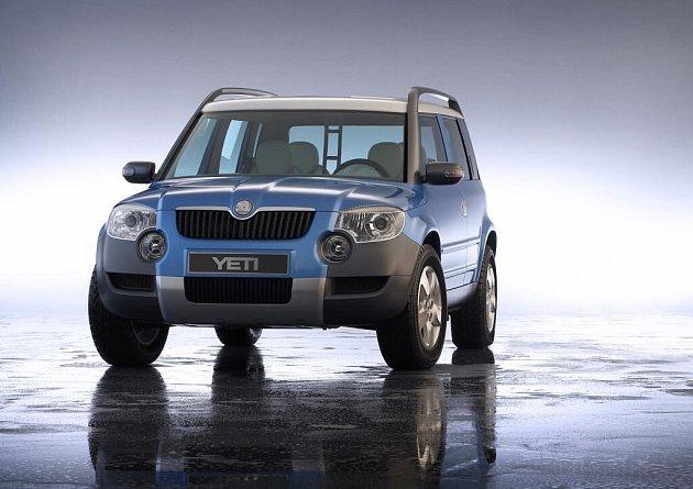 Foto nového vozu Škody Auto YETI