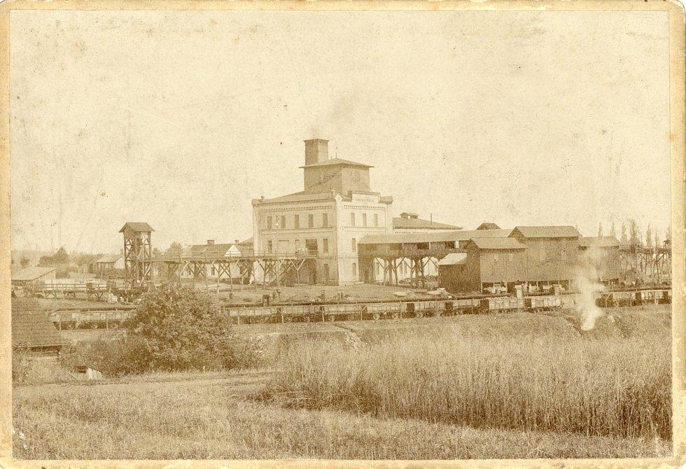 Jáma Františka (založena 1856)
