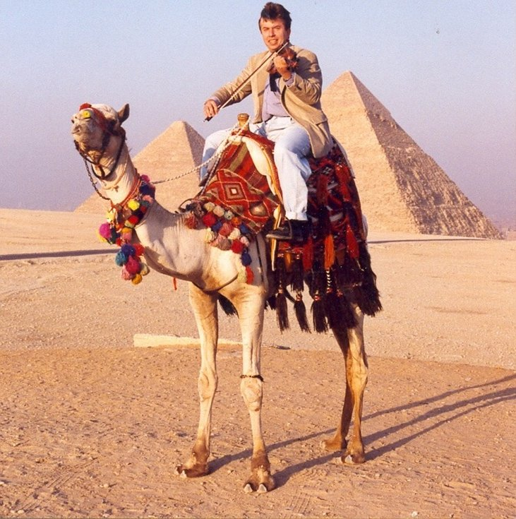 Houslový virtuoz na cestách po celém světě - Giza