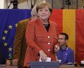 Angela Merkelová již také odvolila