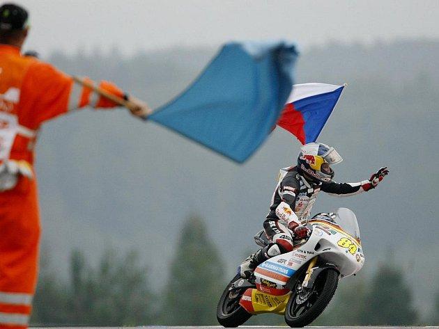Jakub Kornfeil vybojoval v Grand Prix v Brně páté místo.