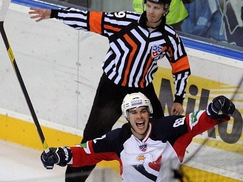Michal Vondrka v dresu Slovanu.
