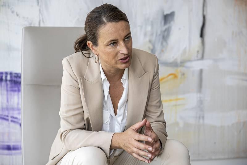 Ředitelka Penta Hospitals Barbora Vaculíková.