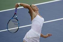 Tenistka Karolína Plíšková předvedla na US Open další skvělé představení na servisu.
