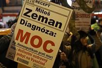 Demonstrace, Zemane - ČT nedáme!