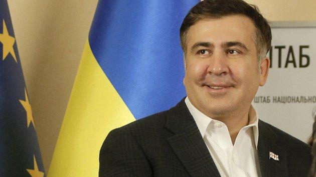 Bývalý gubernátor Oděské oblasti Michail Saakašvili