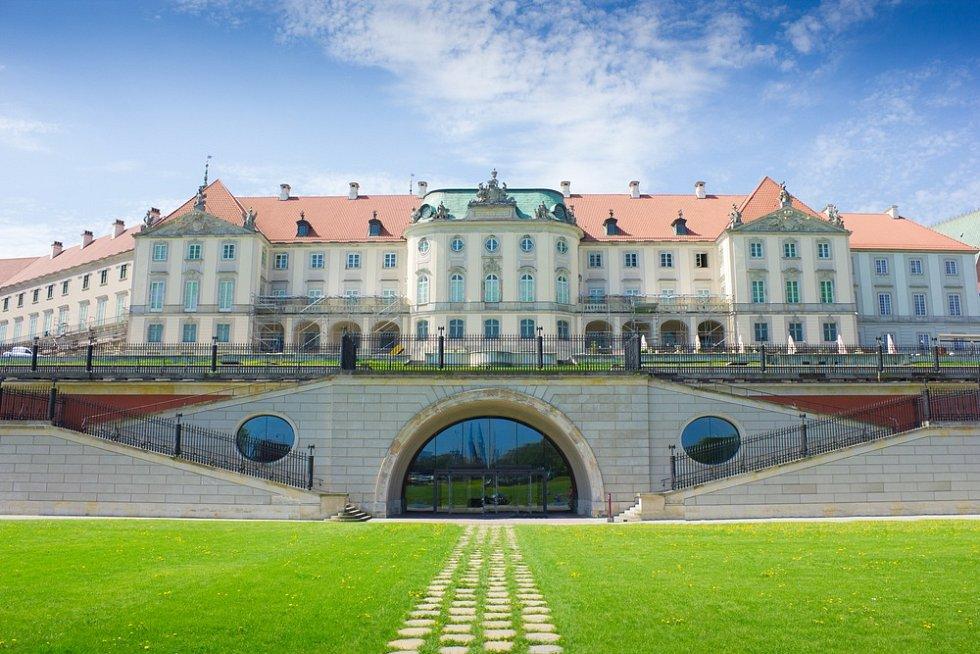 Královský hrad ve Varšavě.