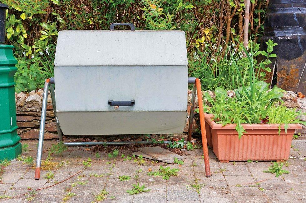 Otočný komposter