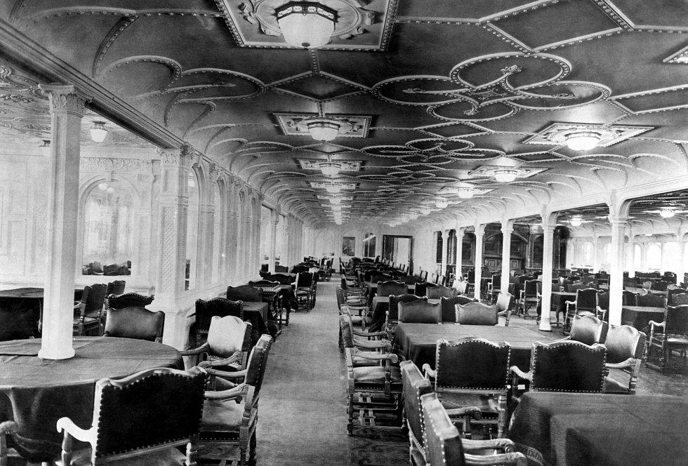 Interiér Titanicu
