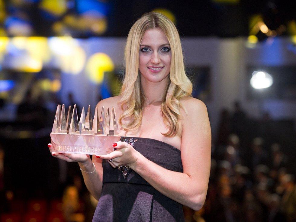 Wimbledonská šampionka a vítězka Fed Cupu tenistka Petra Kvitová se stala Sportovcem roku 2014.