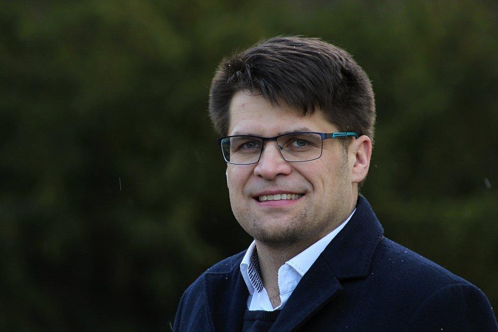 Spolupředseda Zelených, člen vedení Evropských zelených a zastupitel města Vsetín Michal Berg