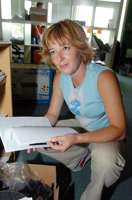 Žaneta Fuchsová, filmová Eva, před pár lety.