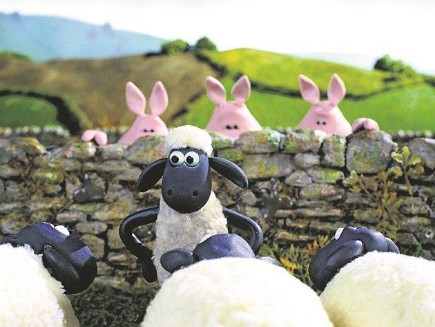 Ovečka Shaun ve filmu.