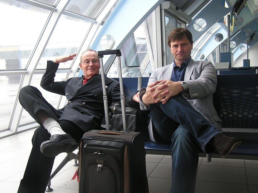 Jan Tříska a Jan Hrušínský.