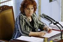 Místopředsedkyně Sněmovny Vlasta Parkanová při jednání 11. července v Praze.
