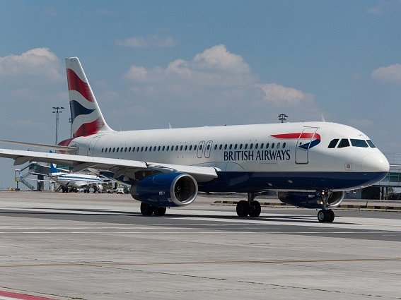 Airbus A320 společnosti British Airways. Ilustrační foto.