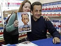 Bývalý ministr vnitra Nicolas Sarkozy v průzkumech vede, ale nijak přesvědčivě.