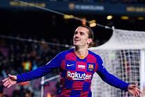 Francouzský fotbalista ve službách Barcelony Antoine Griezmann