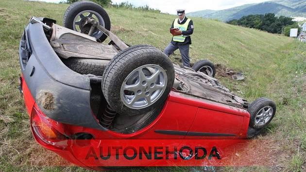 Autonehoda (ilustrační snímek)