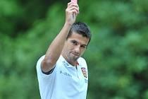 Milan Baroš nastoupí v reprezentaci poprvé coby otec.