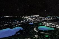 Na Měsíci se nacházejí oblasti v trvalém stínu, kde může existovat měsíční voda