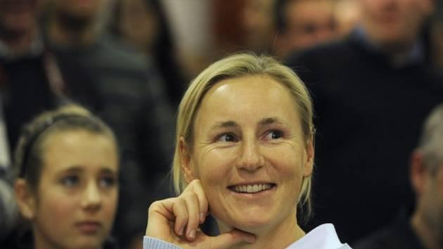Jachtařka Veronika Fenclová.