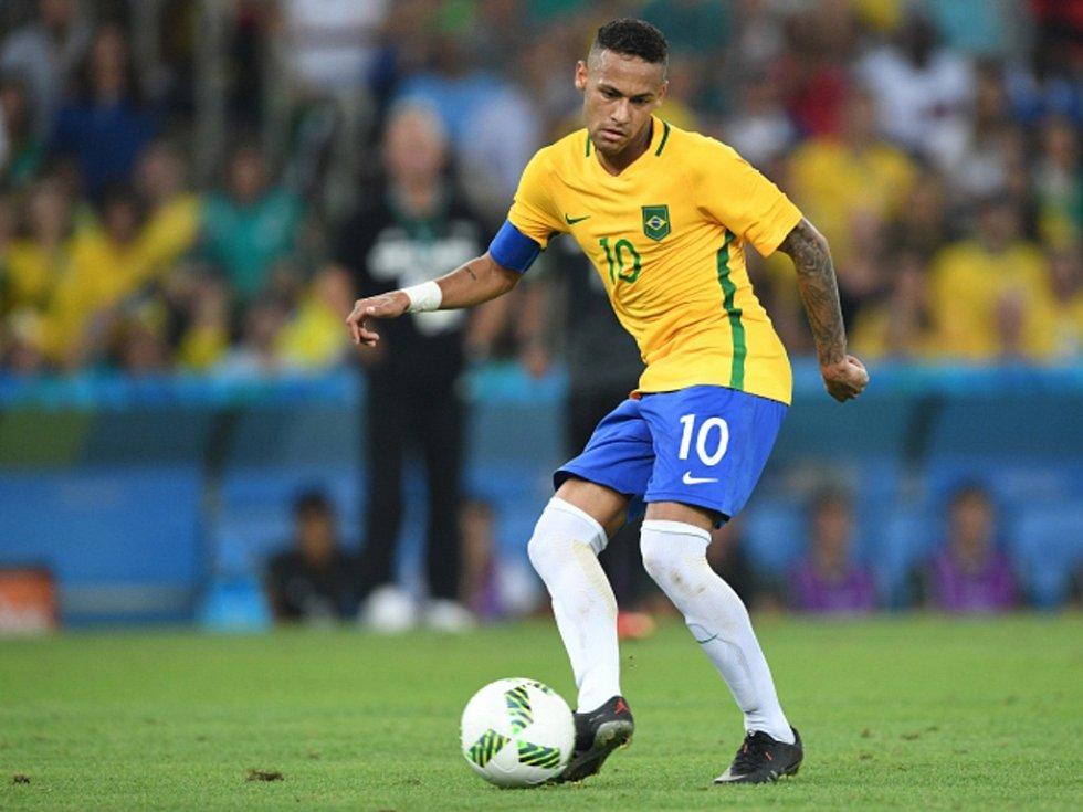 Hvězda Brazílie Neymar.