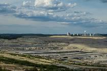 Polský hnědouhelný důl a elektrárna Turów na snímku pořízeném 27. května 2019
