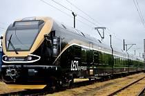 Vlaková souprava Leo Express.