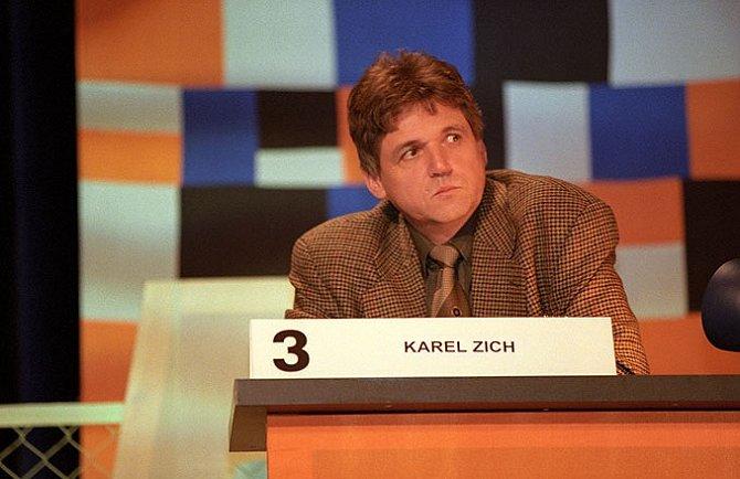 Karel Zich v pořadu Čtveráci