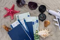 Euro a dovolená - Ilustrační foto