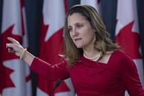 Kanadská ministryně zahraničí Chrystia Freelandová.