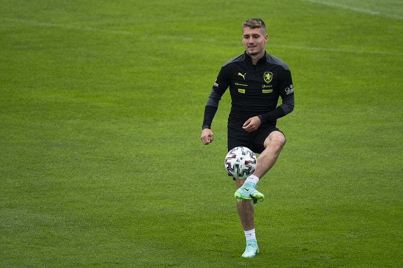 Český fotbalista Michal Sadílek.
