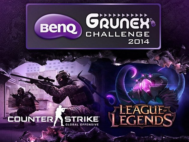 Turnaj v počítačových hrách BenQ Grunex Challenge 2014.
