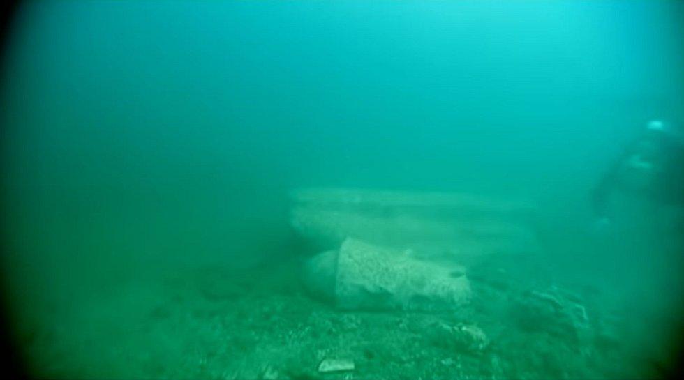 Průzkum zatopeného města Heracleion
