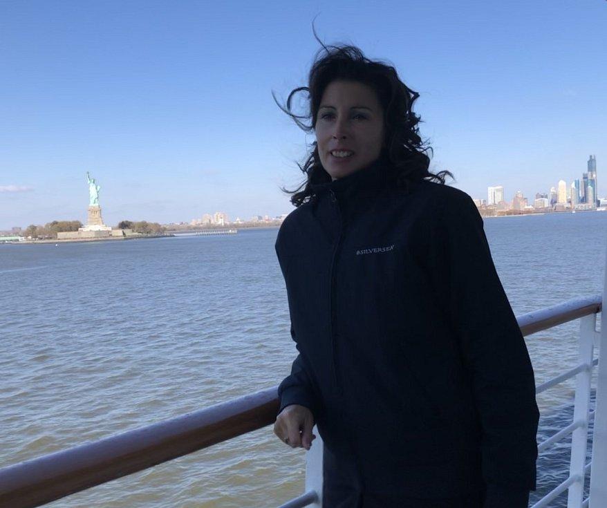 Kateřina Přibíková navštívila také New York.