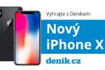 Vyhrajte s Deníkem nový iPhone X.