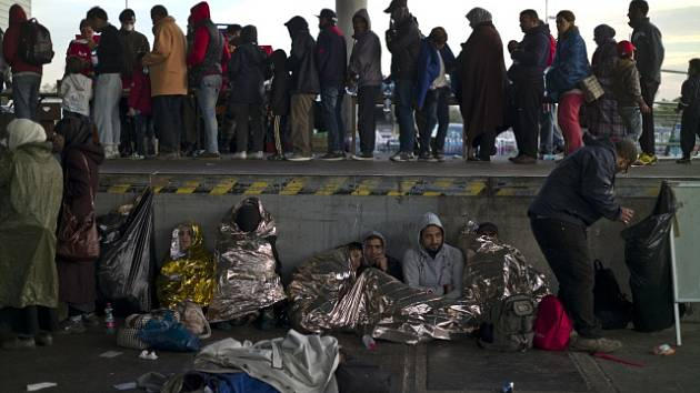 Migranti. Ilustrační snímek