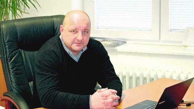 Ředitel královéhradecké firmy NOPO Engineering Milan Saksa.